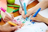 děti kreslení