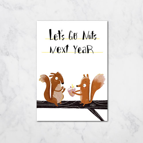 NUTS XMAS CARD