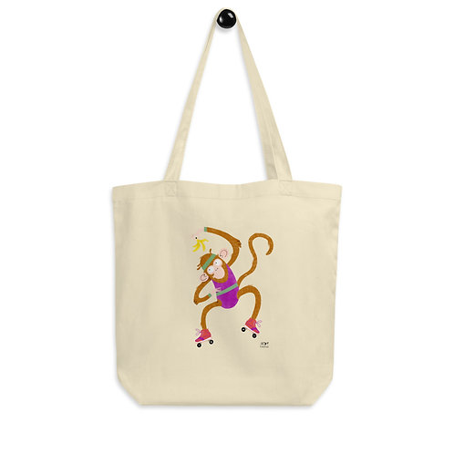 ECO TOTE CRAZY MONKEY
