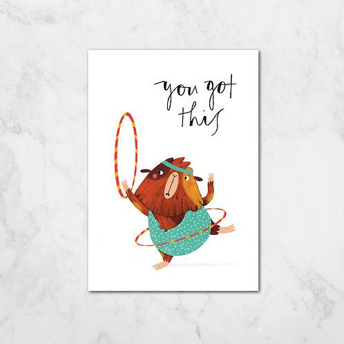 HOOLAHOOP CARD