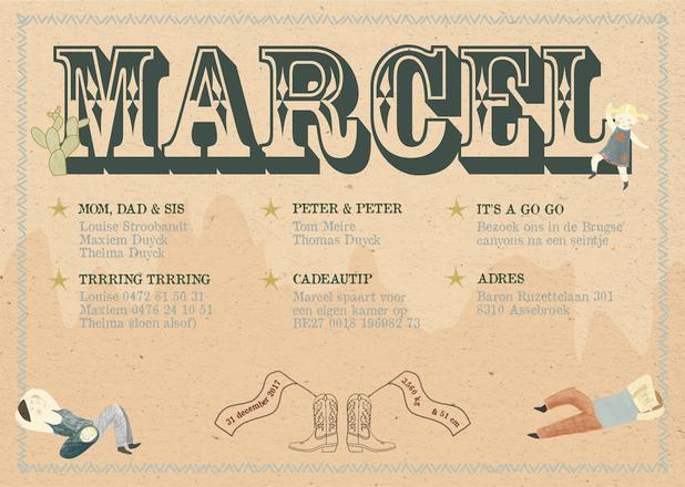 Birth Marcel