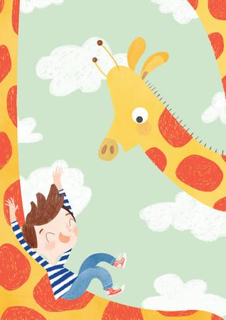 Vicky Lommatzsch © Giraffe Slide