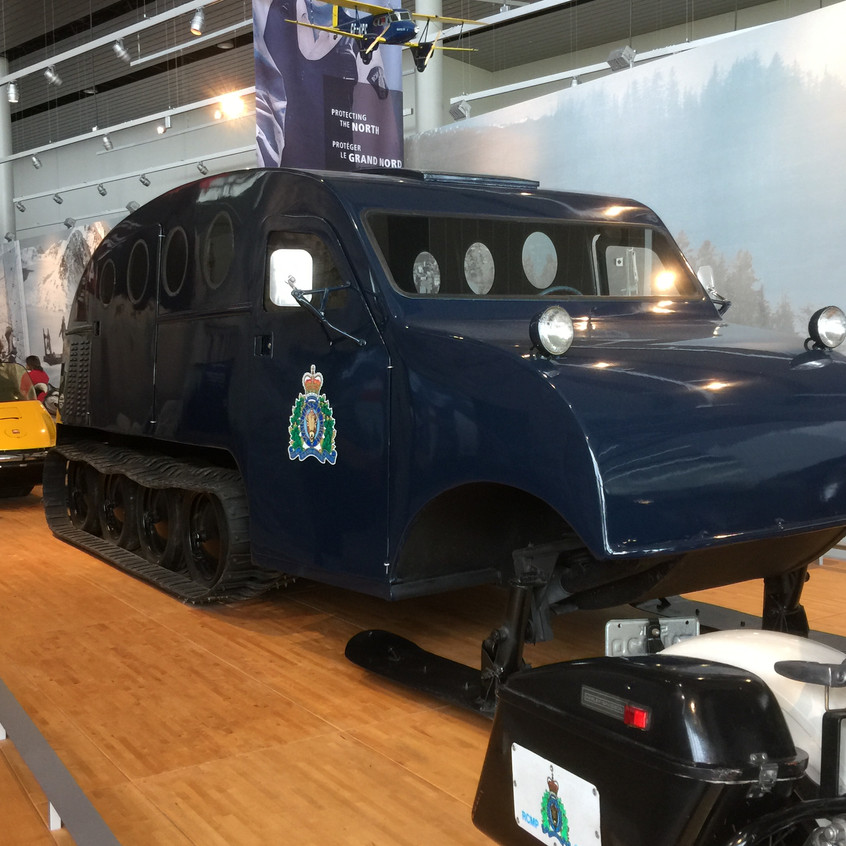 How the RCMP patrolled the North