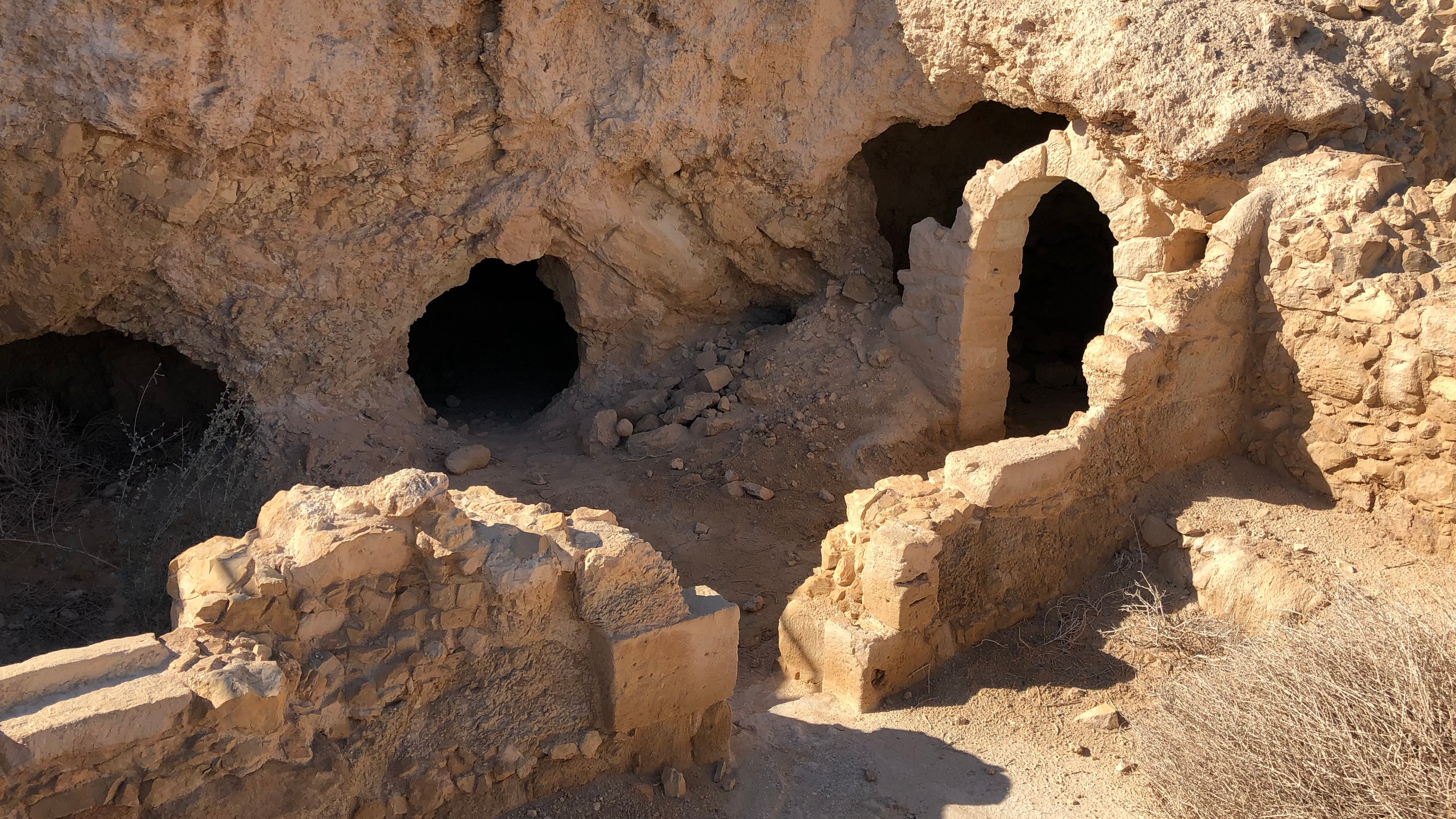 Byzantine Caves