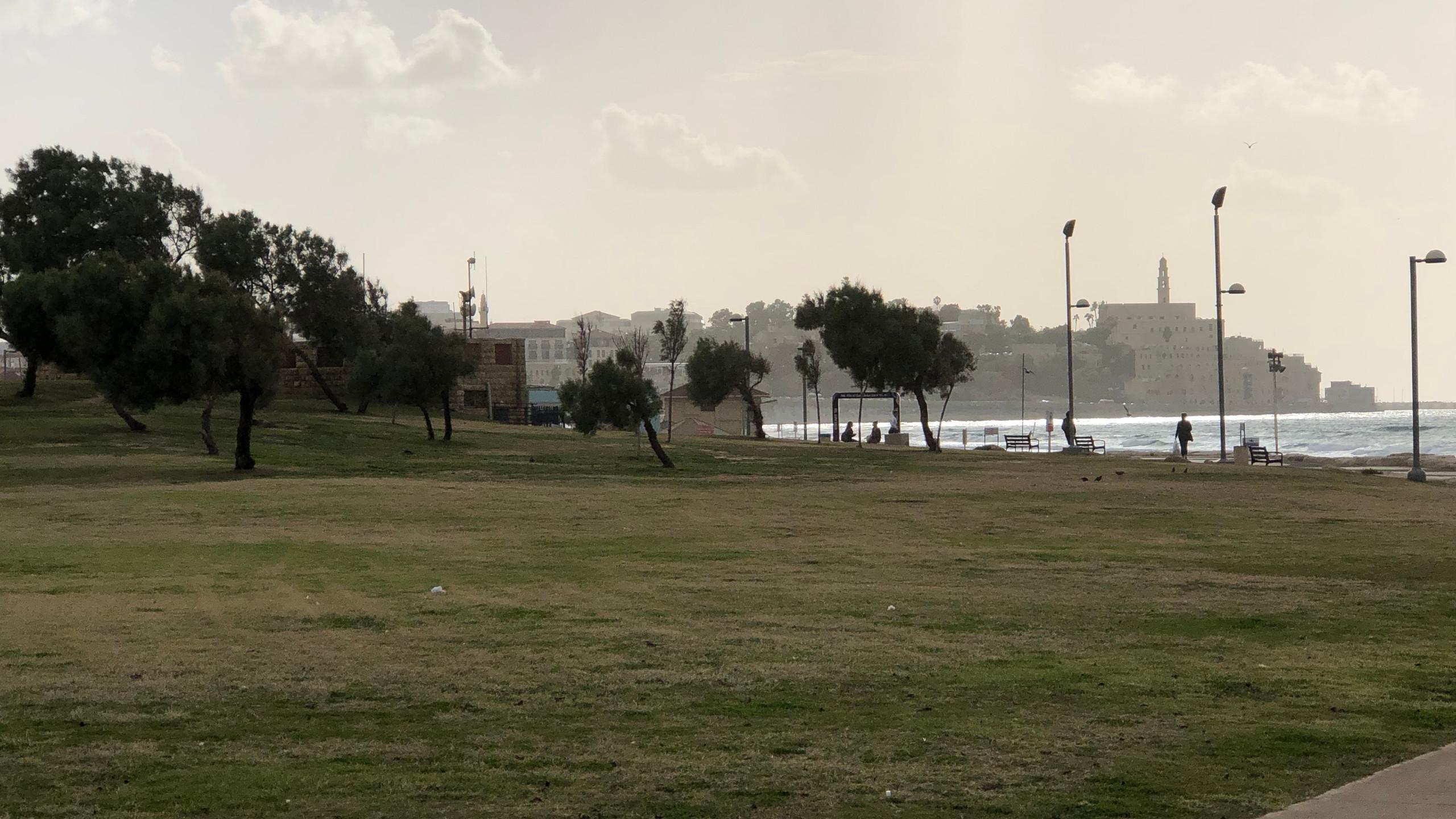 Mediterranean Sea and Beach