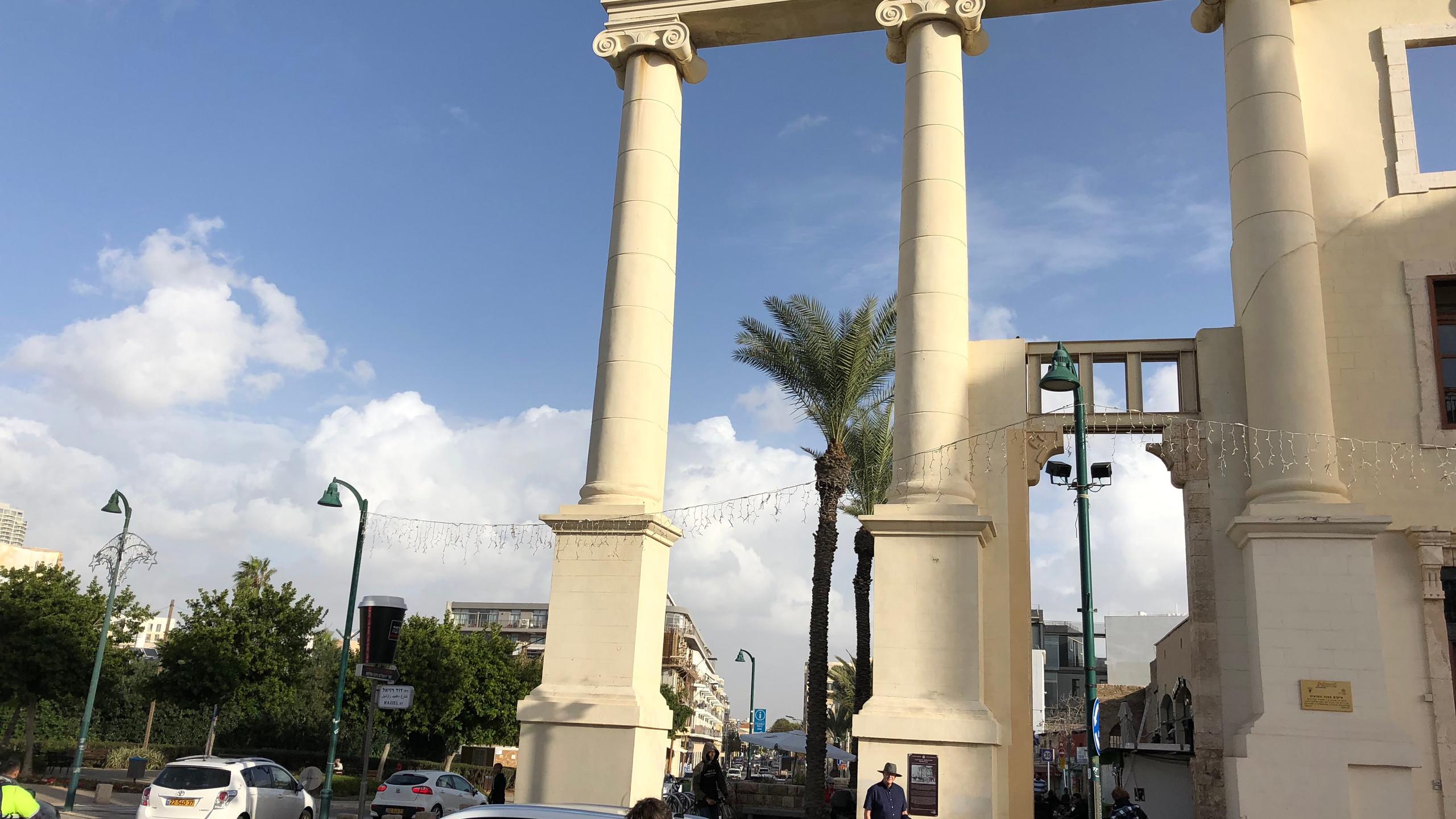 Three Columns in Joppa