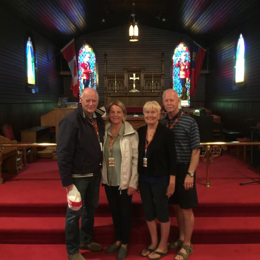 RCMP church