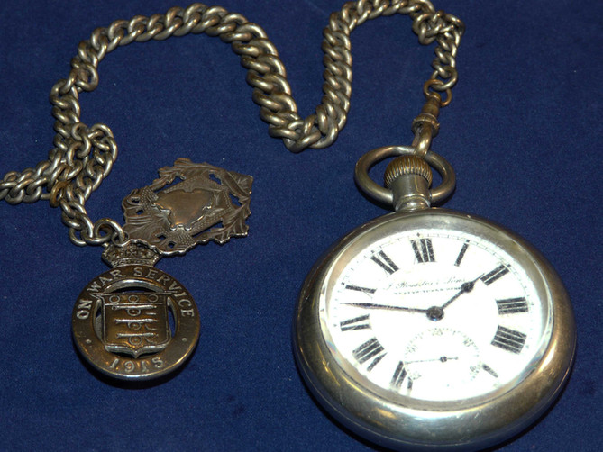 Old Rossiter Pocket Watch arrives with tourist