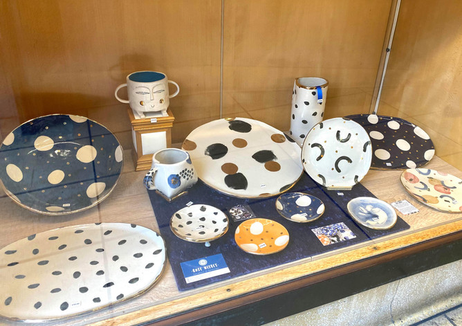 Ceramics from a local award winning artist added to our range