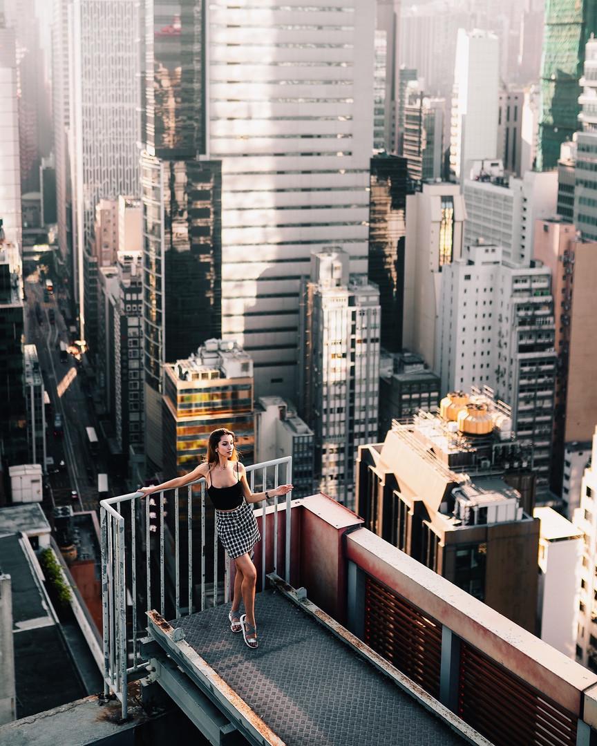 Фотосессия в Гонконге