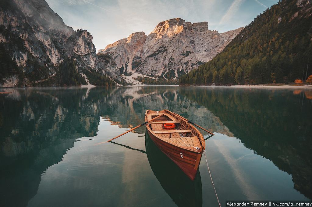 Озеро Lago di Braies