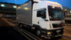 18T tail-lift truck
