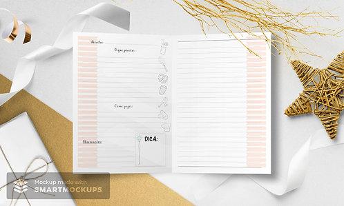 Arquivo Digital Pautado Receitas - Wireo ou Espiral