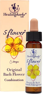 5 Flower (rescue remedy)