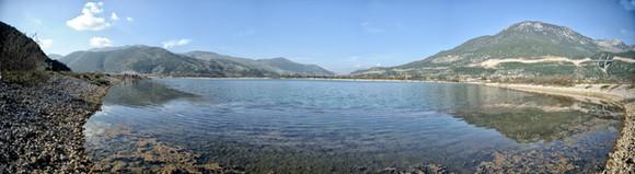 Λίμνη Σέλλιανης Πανοραμική.