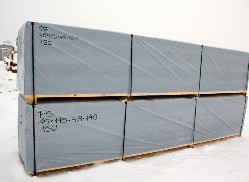 Material prepared for delivery.