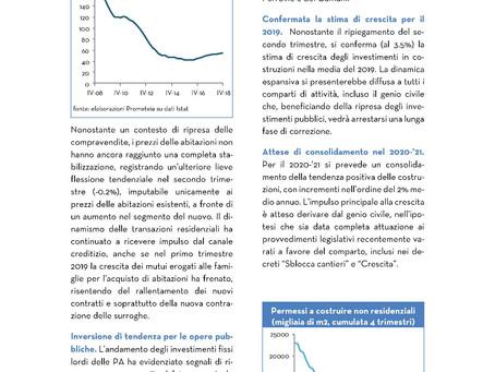 Monitor Edilizia Italia 2019 - Terza parte