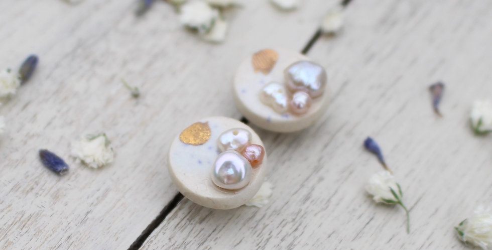 Constellation Pearl Stud