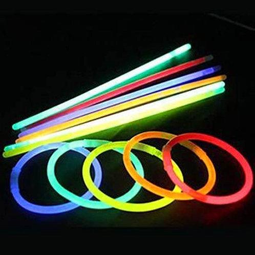 Pulseira de Neon 100 peças