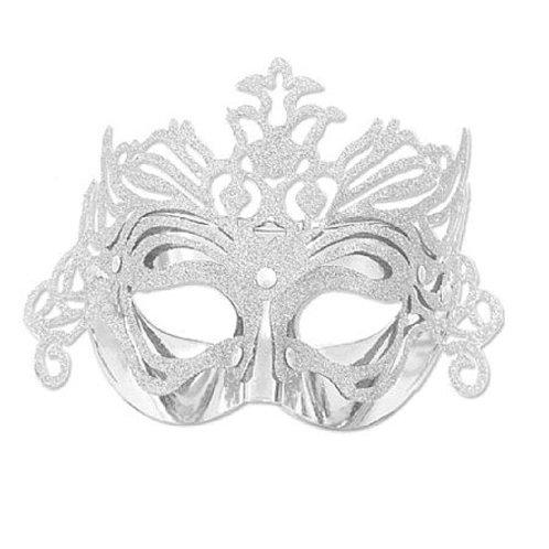 Máscara Glitter Prata
