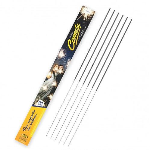 Vareta Vela Sparklers para Casamento 60cm c/ 06 unidades