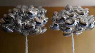 Balões Metalizados em Casamentos