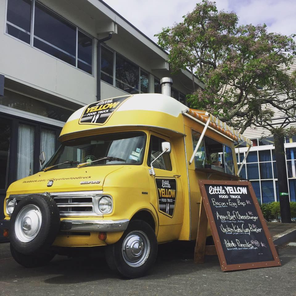 Little Yellow Food Truck Auckland