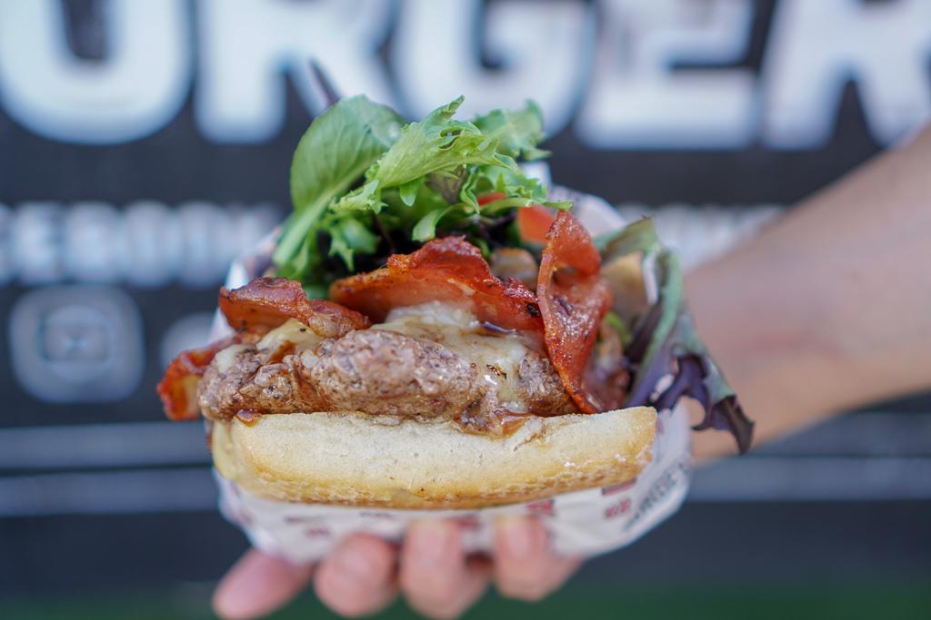Auckland Food Truck Burger