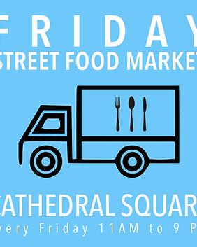 Friday Street Food Market Christhurch