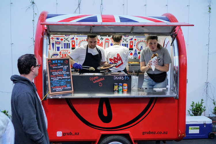 Food Truck Auckland English Food