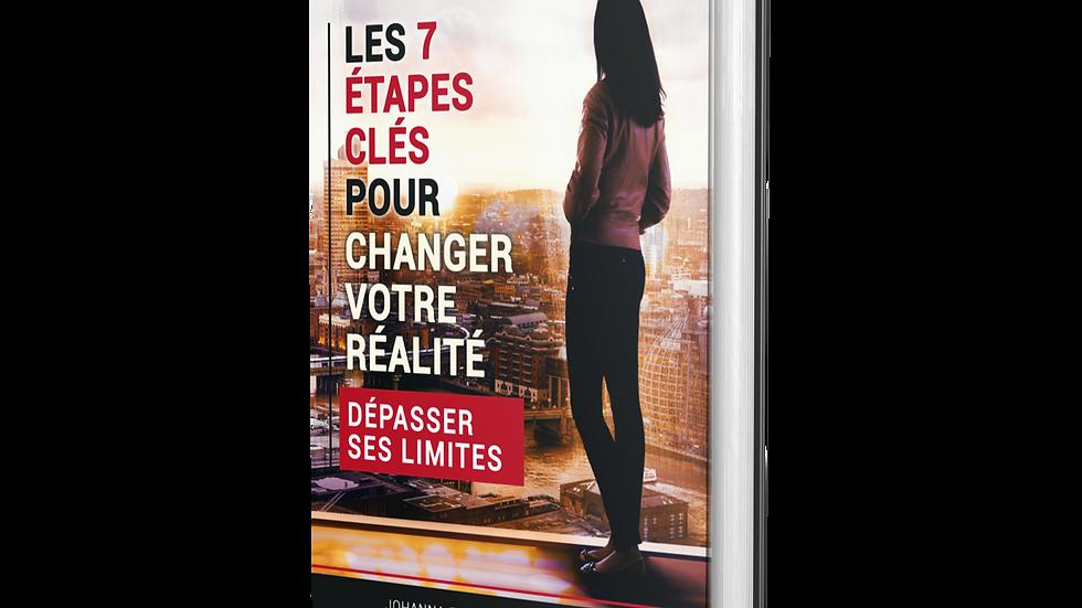 Livre Les 7 étapes pour Dépasser Ses limites