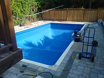 Pool liner in Oshawa