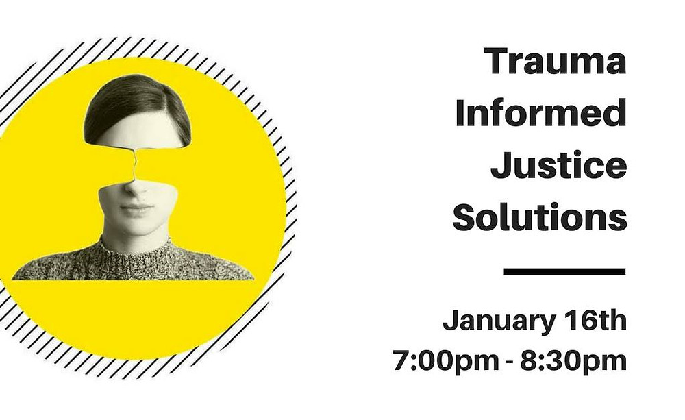 Trauma Informed Justice Solutions Banner