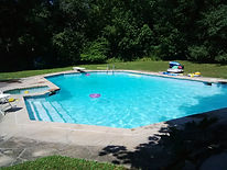 Pool Opening in Whitby