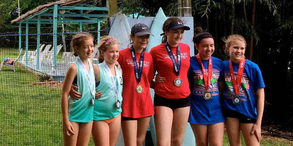 AVPfirst   Jrs  Beach Volleyball Tourney 2's