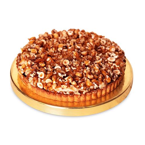 Пиріг карамельний з горіхом пекан