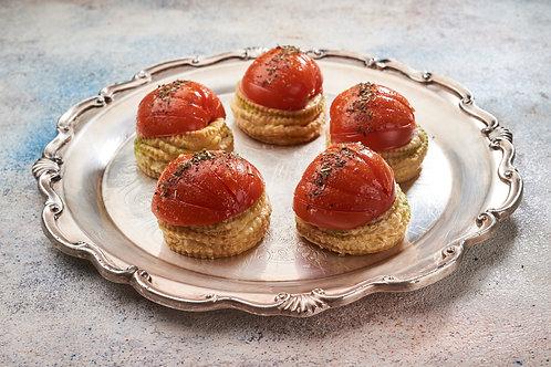 Тарталетка з помідорами по-прованськи