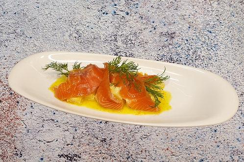 Норвезький лосось маринований