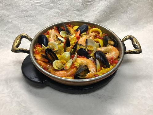 Паелья іспанська з морепродуктами