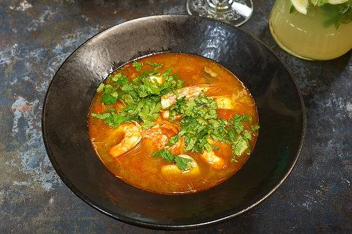 Том ям суп з морепродуктами