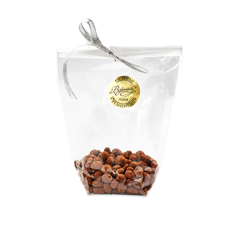 Кавові зерна в чорному шоколаді