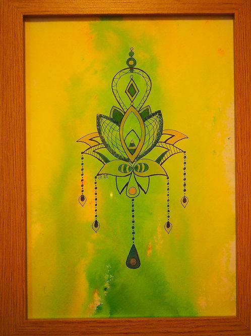 Yellow/green Lotus