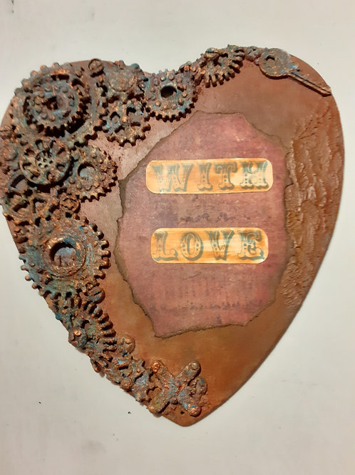 Steampunk Love Heart