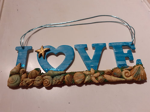 Seaside Love plaque