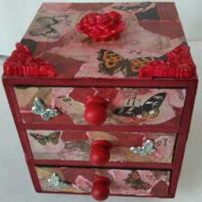 RUBY BUTTERFLY CHEST