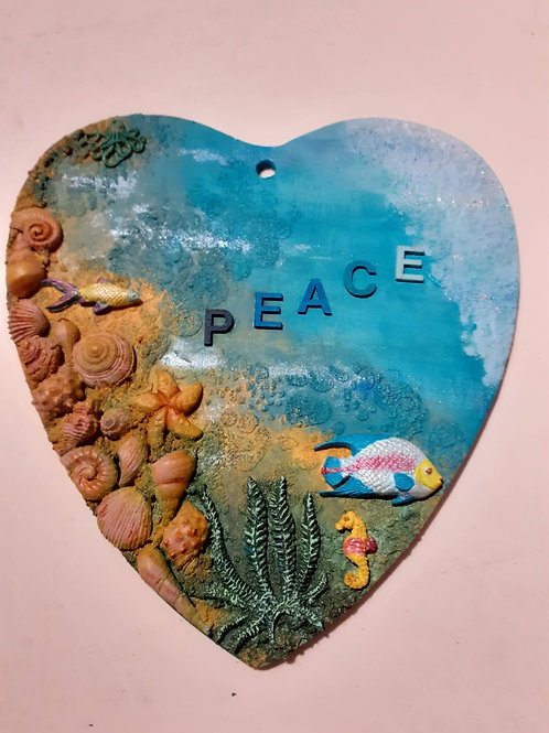 Peace in the Sea Heart