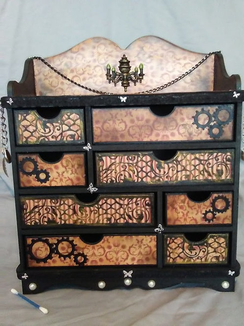 Large Steampunk style chest