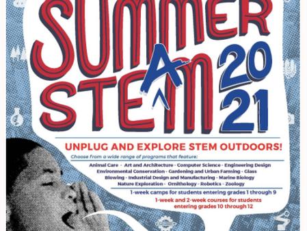 SUMMER STEM PROGRAMS!!! APPLY BY APRIL 23RD!!!!