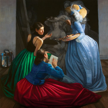 """""""The Mentor; Homage To Adelaide Labille Guiard"""""""