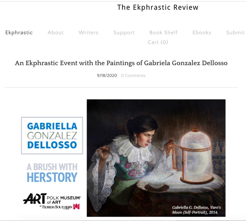 "'The Ekphrastic Review"""